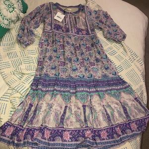 Spell & The Gypsy Poinciana Midi Dress Lilac XS